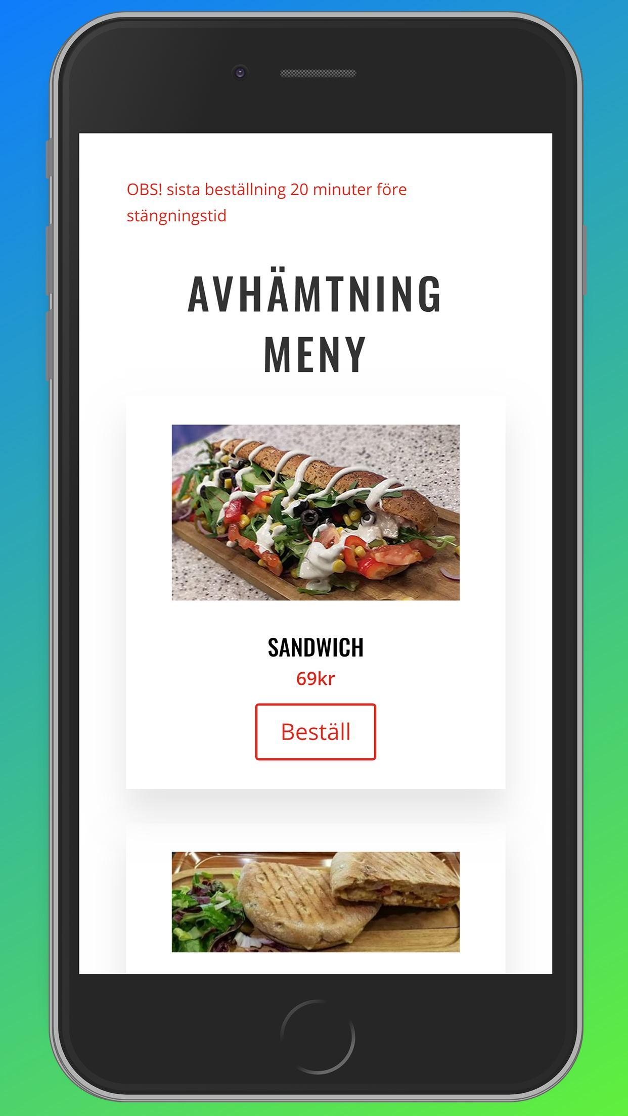Mr. Sandwich poster
