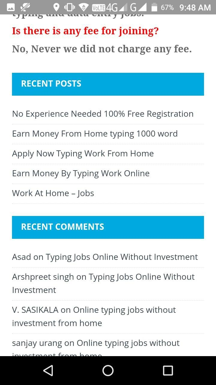 Online Typing Jobs for Android - APK Download