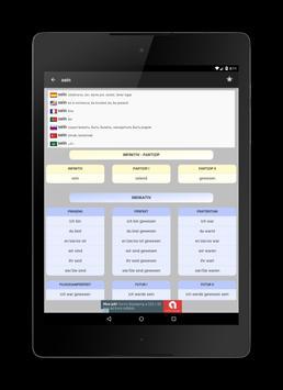 14000 German verbs screenshot 10