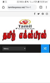Tamil Express poster