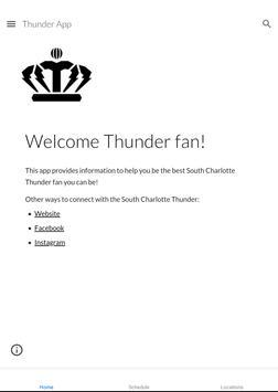 South Charlotte Thunder poster