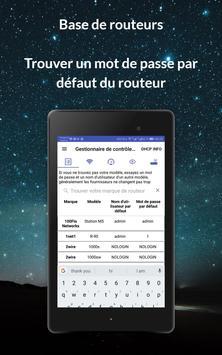 Routeur admin Setup Control & Test de rapidité capture d'écran 14