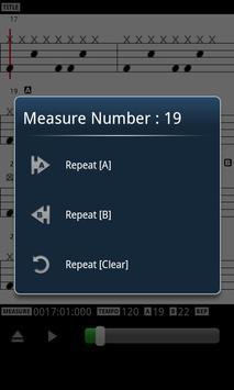 MIDI Drum Score Player screenshot 2