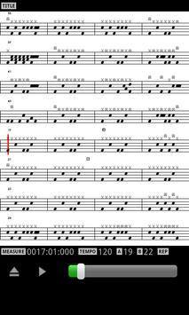 MIDI Drum Score Player screenshot 3