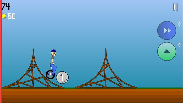Super Unicycle screenshot 1