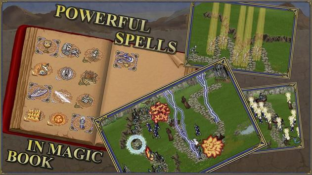 10 Schermata Heroes 3 and Mighty Magic:TD Fantasy Tower Defence