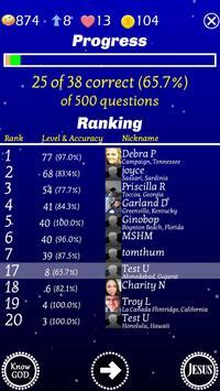 Play The Jesus Bible Trivia Challenge Quiz Game 截图 3