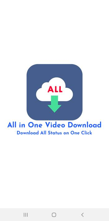 All Video Downloader without Watermark for Android - APK Download