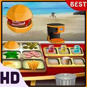 GMD Beach Burger - Chef's Food Cooking Game icon