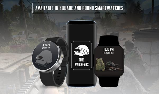 Watchfaces for PUBG - Android Wear OS screenshot 5