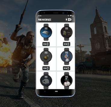 Watchfaces for PUBG - Android Wear OS screenshot 6