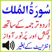 Urdu Surah Mulk Audio Basit icon