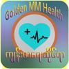 Golden MM Health Zeichen