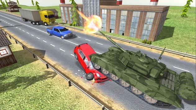 City Tank Traffic Driving screenshot 1