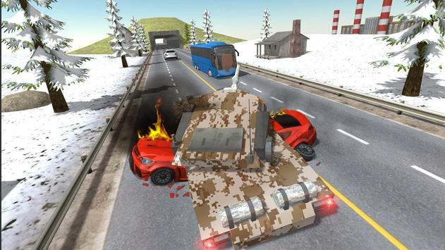 City Tank Traffic Driving screenshot 2
