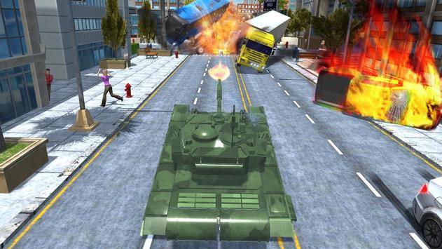 City Tank Traffic Driving screenshot 3