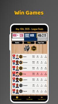 Ultimate Basketball Manager - Basketball Sim screenshot 4