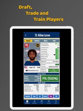 Ultimate Basketball Manager - Basketball Sim screenshot 8