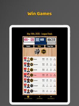 Ultimate Basketball Manager - Basketball Sim screenshot 11