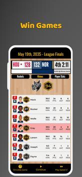 Ultimate Basketball Manager - Basketball Sim screenshot 18