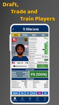 Ultimate Basketball Manager - Basketball Sim screenshot 1