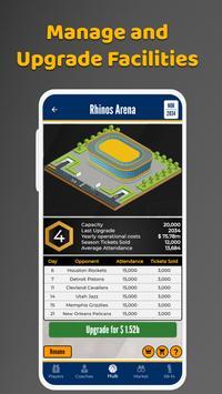 Ultimate Basketball Manager - Basketball Sim screenshot 3