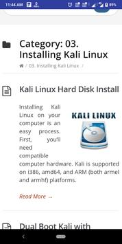 Kali Linux Docs screenshot 2