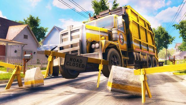 City Trash Truck Simulator: Dump Truck Games screenshot 3