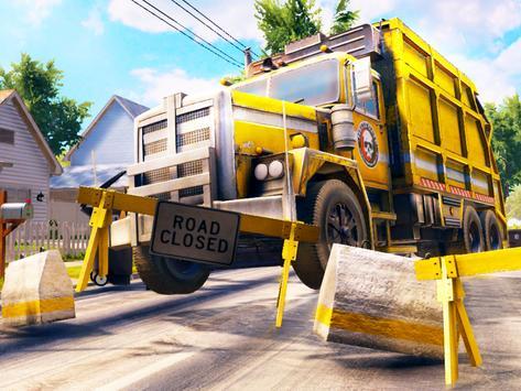 City Trash Truck Simulator: Dump Truck Games screenshot 7
