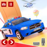 Police Car Stunts: Mega Ramp Free Car Racing Games