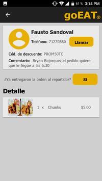 goEAT Restaurante screenshot 6