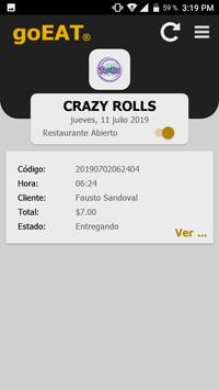 goEAT Restaurante screenshot 7