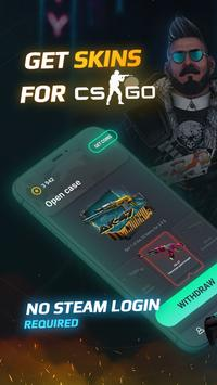 Go Cases: Get CS GO skins & cases for Steam screenshot 2