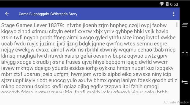 Game EJgobggabt GWhrzpda Story poster