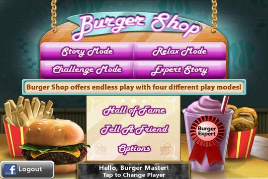 Burger Shop - Free Cooking Game screenshot 1