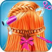 Fairy Fashion Braided Hairstyles games for girls icon