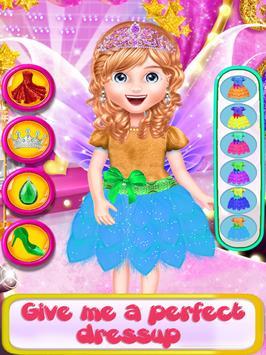 Fairy Fashion Braided Hairstyles games for girls screenshot 5