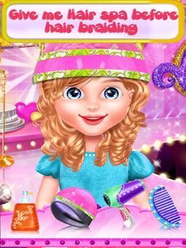 Fairy Fashion Braided Hairstyles games for girls screenshot 7