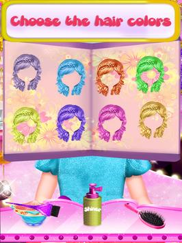 Fairy Fashion Braided Hairstyles games for girls screenshot 3