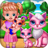 Mommy & Baby Kitty Daily Care-Motherhood Nursery icon