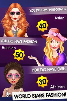 World Stars Fashion Hairstyles & Dress Up screenshot 9
