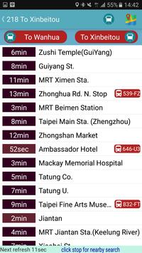 KaoHsiung Bus Timetable screenshot 3