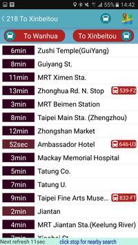 HsinChu Bus Timetable screenshot 4