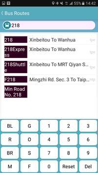 HsinChu Bus Timetable screenshot 3