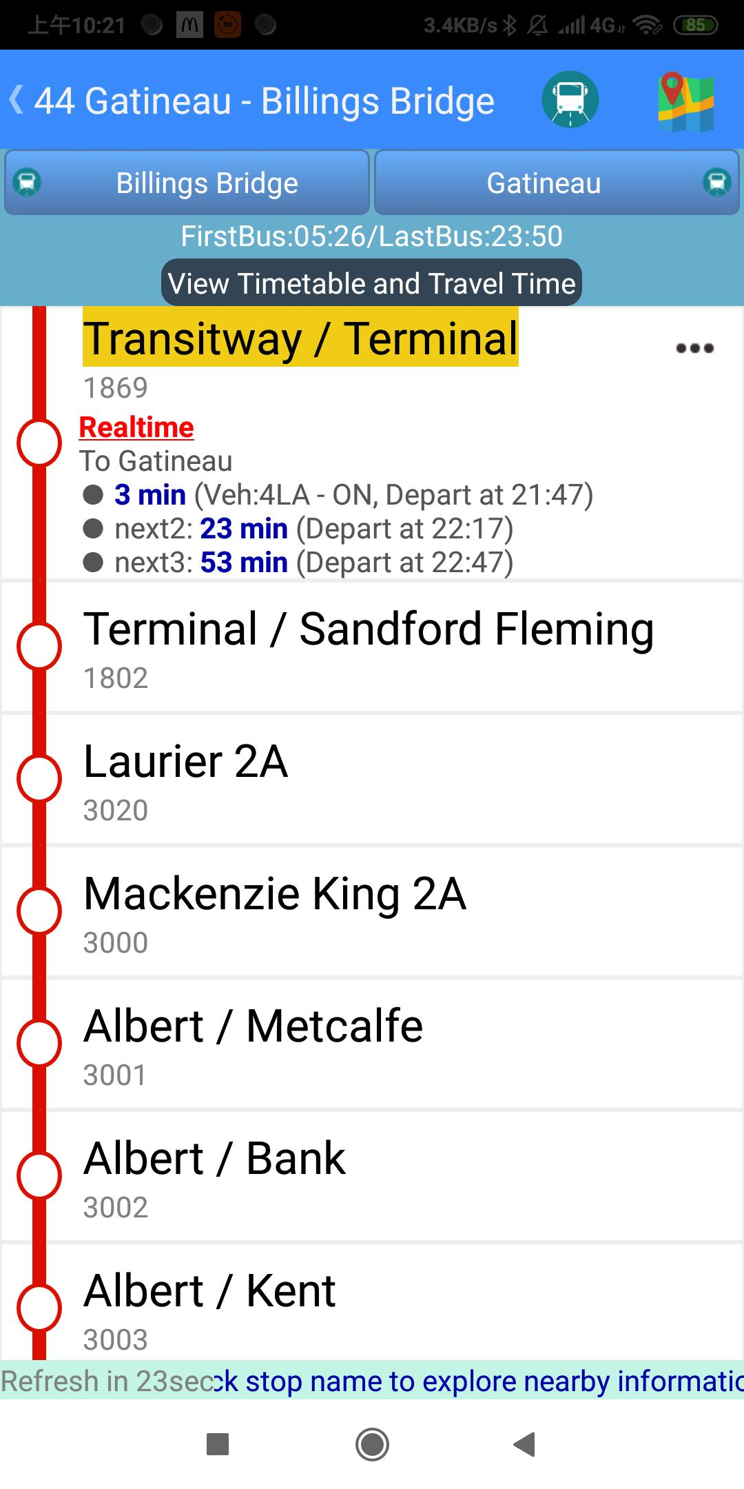 Ottawa Bus Tracker for Android - APK Download