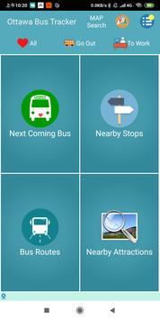 Ottawa Bus Tracker poster