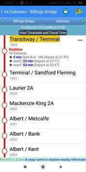 Ottawa Bus Tracker screenshot 3