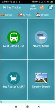 SG Bus / MRT Tracker poster