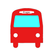 Praha bus/tram/train timetable icon