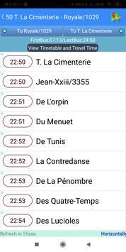 Quebec RTC Bus Timetable screenshot 2